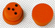 Click for the details of D21xd17xH15xh10mm Rubber Inserts(2pcs).