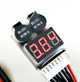 Click for the details of LED 1-8S LiPO Battery Voltage Tester/ Low Voltage Buzzer Alarm (1S support 3.7-30V).