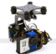 Click for the details of Brushless Gimbal  Assembly for Gopro 3 W/ controller & motors.