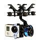 Click for the details of TAROT 2-Axis Brushless Gimbal Assembly T-2D for Gopro Hero 3.