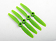 "Click for the details of GEMFAN 4045 / 4 x 4.5"" Fiberglass Nylon Propellers - Green  (4pcs) ."