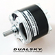 Click for the details of DUALSKY XM6360EA-12 184KV Outrunner Brushless Motor for Airplane.