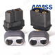 Click for the details of AMASS XT60 Connector male/female W/ Wire guiding sleeves .