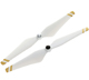 Click for the details of DJI 9.4 x 5/ 9450 Self-tightening Propeller Set CW/CCW  White/ Gold Stripes - for Phantom 2/3, E310, E305, E300 Propulsion Systems etc.  .