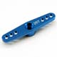 Click for the details of Futaba Standard 25T Aluminum Dual Arm - Blue.