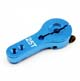 Click for the details of Futaba Standard 25T CNC Aluminum Single Side Arm SO005 - Blue.