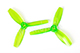 Click for the details of DYS 3x4.5 3045 Tri-blade Bullnose Propeller Set (1CW/ 1CCW) - Green.