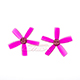 Click for the details of DYS  1935 5-blade Propeller Set (1CW/ 1CCW) - Purple.