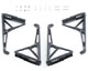 Click for the details of DJI  Inspire 2 Part 14 - Landing Gear Assembly (1 Piece).