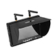 Click for the details of 5.8G 40 Channel 7 inch FPV Diversity Monitor (Built-in battery)  LT5802S .
