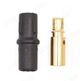 Click for the details of AMASS 3.5mm Gold-plated Banana Connector (bullet connector) W/ Sheath SH3.5 - Female.